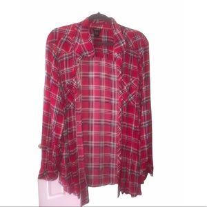 Torrid button down flannel